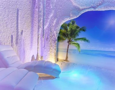En Getafe se respira sal. Salt Beach. Salt Room Spain.
