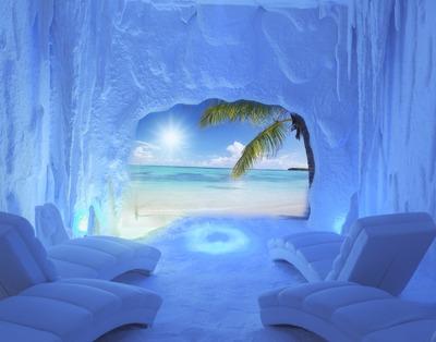 En Madrid se respira Sal. Playa de Sal. Salt Room Spain.